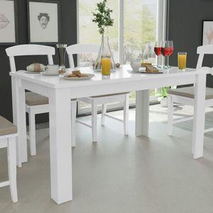 TABLE À MANGER SEULE Table de salle à manger blanche Table de salle à m