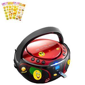 RADIO CD CASSETTE Système stéréo USB Bluetooth Boombox Lecteur CD MP