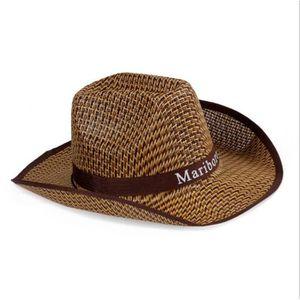 CHAPEAU - BOB Chapeau Cowboy Bob Paille,Modèle unisexe,1E001-1