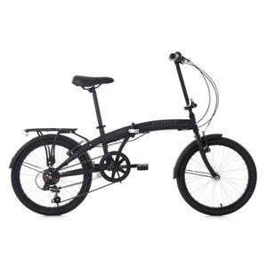VÉLO PLIANT Vélo pliant 20'' CITYFOLD noir 6 vitesses KS Cycli
