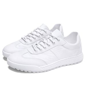 86be1533c4cd3 ... Redoute, Basket Homme Basket plate creux Chaussure de sport Basket mode  Chaussures de broderie blanche Respirante sneaker