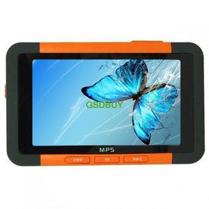 LECTEUR MP4 Baladeur lecteur MP3/MP4/MP5 8Go - Orange - Grand