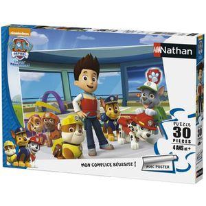 PUZZLE NATHAN PAT'PATROUILLE Puzzle Réunie 30 pcs   86354