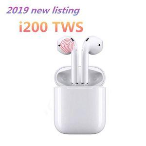 CASQUE - ÉCOUTEURS Écouteurs Sans Fil I200 TWS Oreillettes Bluetooth