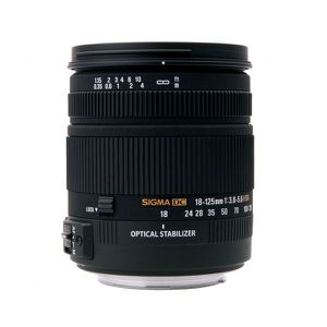 OBJECTIF Sigma 18-125mm F3.8-5.6 DC OS HSM (Canon)