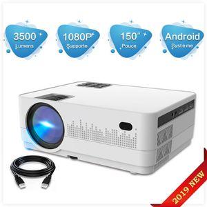 Vidéoprojecteur TECHSTICK Vidéoprojecteur portable led WiFi 3500Lu
