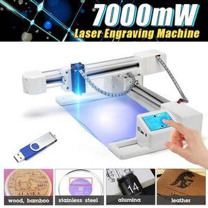 KIT GRAVURE TEMPSA 7000mW Laser Machine de Gravure Ordinateur