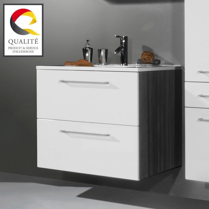 juliana meuble sous lavabo de salle de bain achat vente ensemble meuble sdb juliana meuble. Black Bedroom Furniture Sets. Home Design Ideas