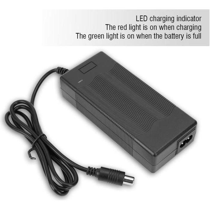 Chargeur de batterie adaptateur pour Trottinette électrique 42V 2A Xiaomi 220V (prise UE)