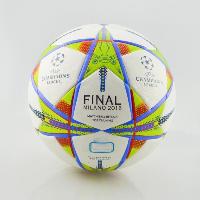 2016 football Ligue des Champions nouvelle confrontation Milan PU granule grain normes match ball