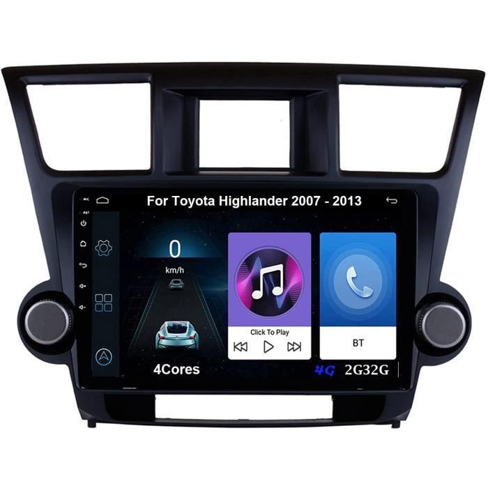 Autoradio 9 Inch Écran Tactile Voiture Multimédia De Navigation GPS Pour Toyota Highlander 2007-2013 Autoradio Voiture Voiture 401
