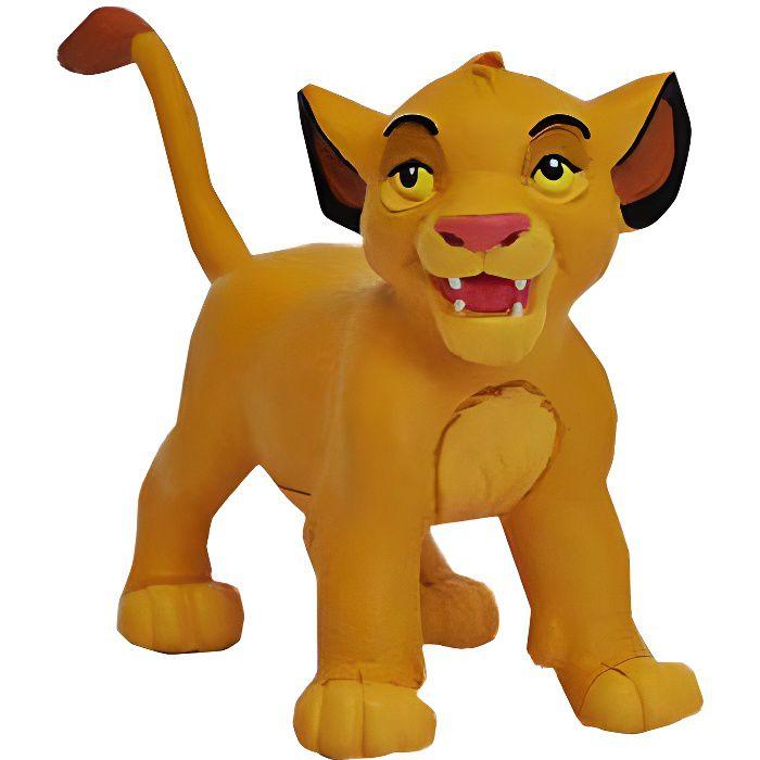 BULLY - Figurine Simba Bébé - Le Roi Lion Disney - 7 cm