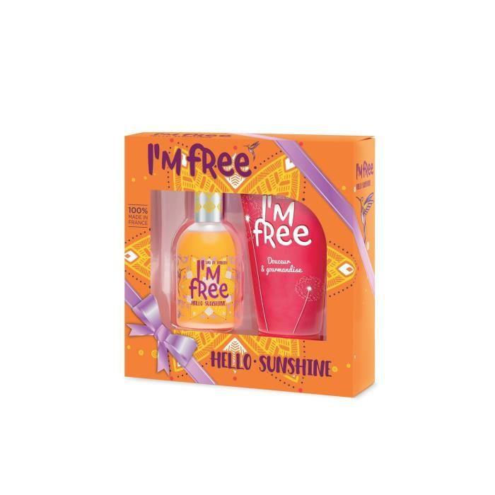 I'M FREE Coffret Hello Sunshine 110Ml + Gel Douche 150Ml