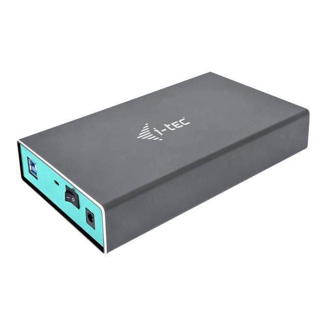 I Tec Boîtier Pour Disque Dur Mysafe Serial Ata/600 Usb 3.0 Host Interface Externe Gris 1 x Disque dure supporté 1 x Ssd