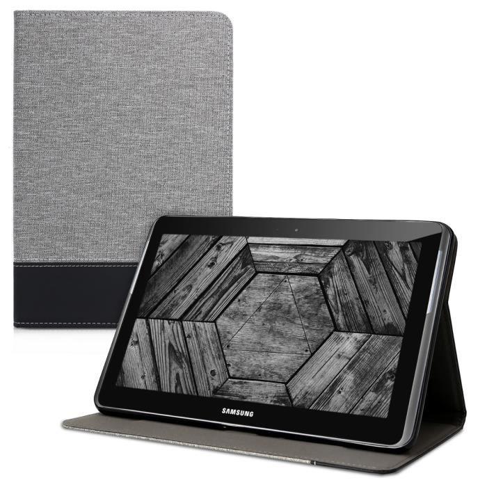 kwmobile Étui Samsung Galaxy Tab 2 10.1 P5100/P5110 Étui à rabat protection slim pour tablette Samsung Galaxy Tab 2 10.1 P5100/P51