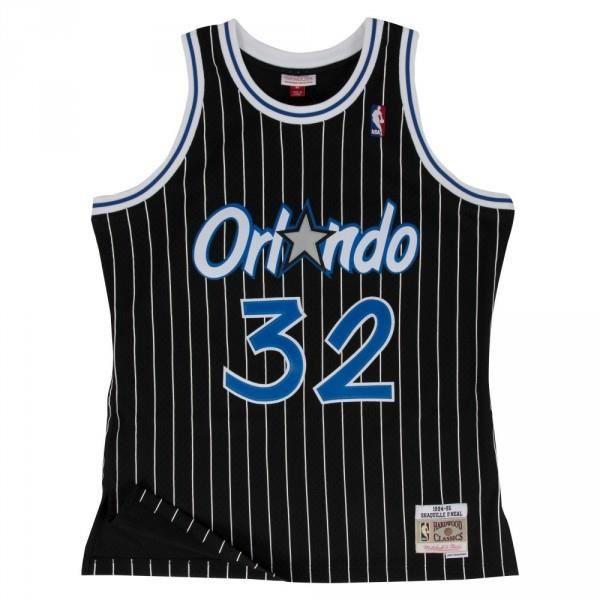 Maillot NBA Shaquille O neal Orlando Magic 1994-95 Mitchell amp ness swingman Hardwood Classics Noir
