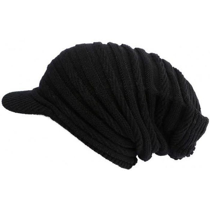 Bonnet Casquette Rasta Noir Kift Nyls Création - Noir - Taille unique