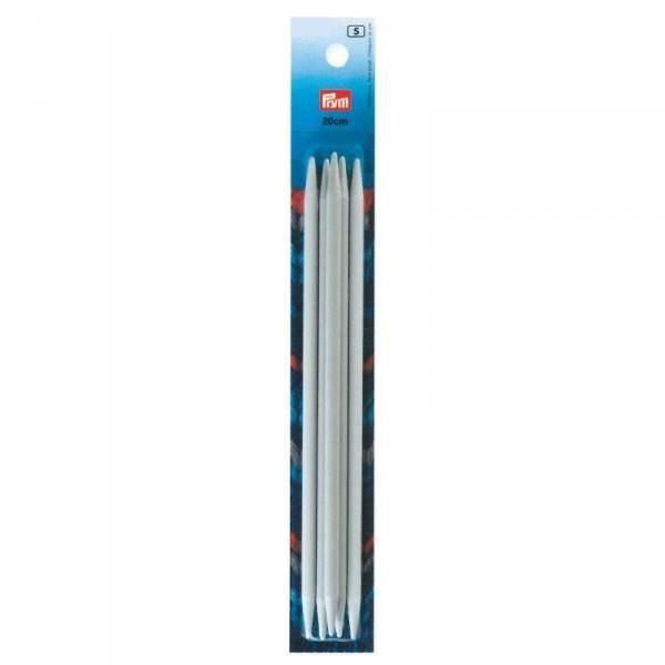 Aiguilles double pointes plastique 20 cm, Prym N° 12