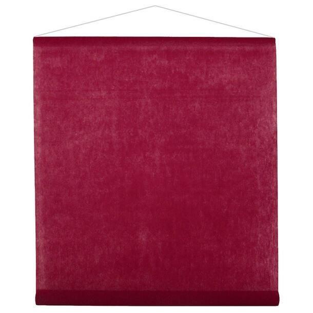 Décoration de salle élégante avec tenture bordeaux de 12m (x1) R/2933