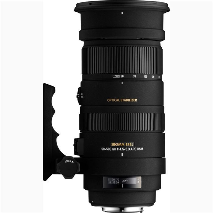 Sigma APO 50-500mm F4.5-6.3 DG OS HSM (Canon)