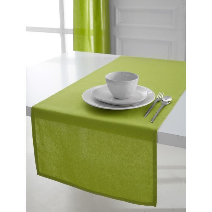 TODAY Chemin de table 50x150cm coton FOUGERE
