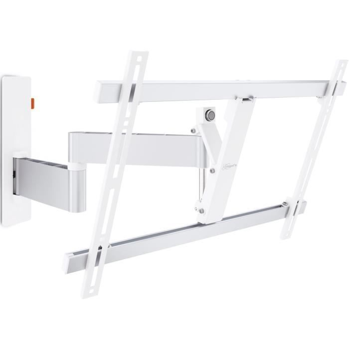 Vogel's WALL 3345 White - support TV orientable 180° et inclinable +/- 20° - 40-65- - 30kg max.