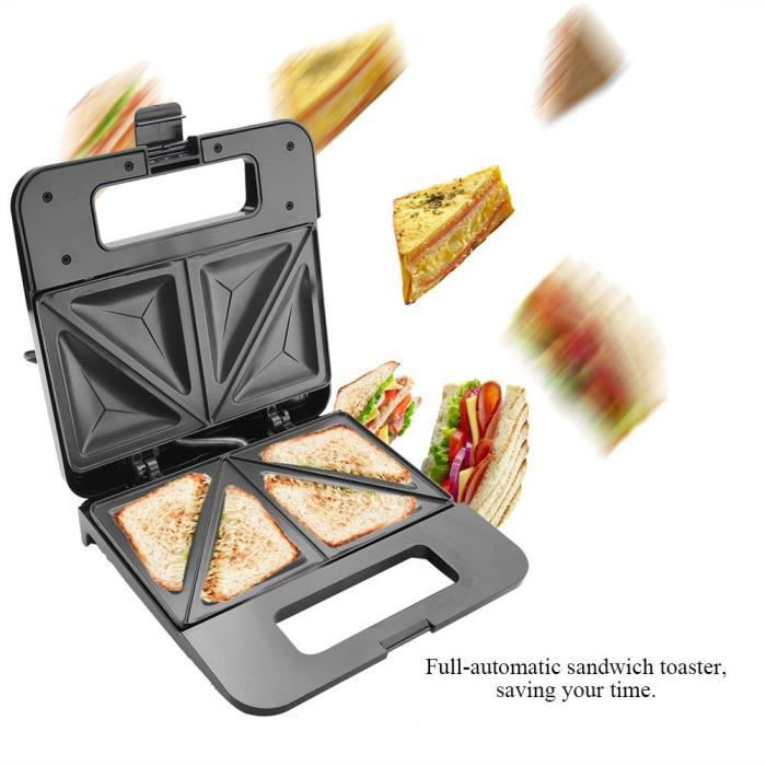 Machine automatique à sandwich de ménage ( 220-240V ) ( EU Plug )---Guanlan store