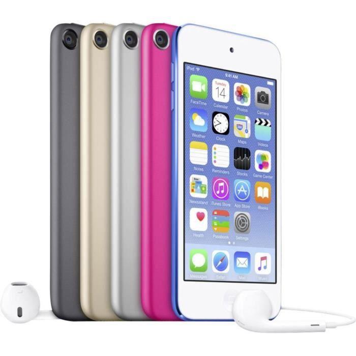 LECTEUR MP4 iPod touch Apple 6eme génération 16 Go gris sidéra