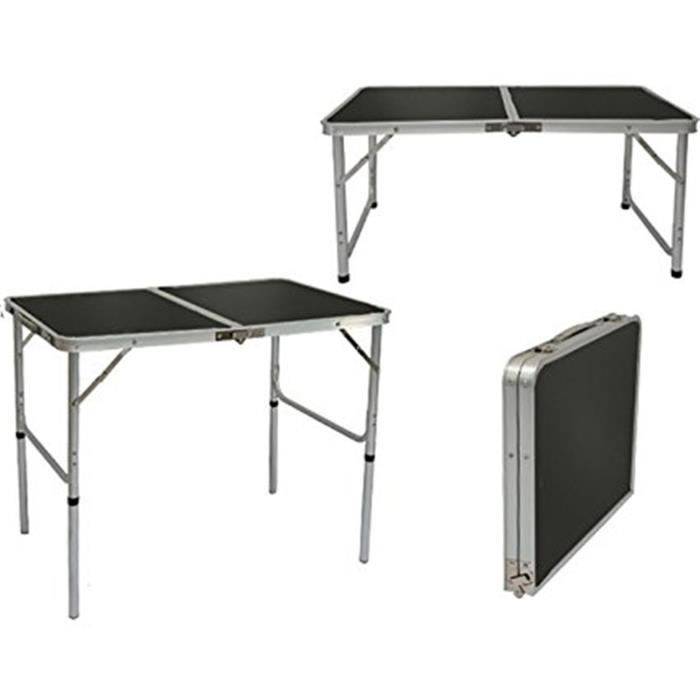 incroyable Table de Camping Portable 3kg Pliante en mallette