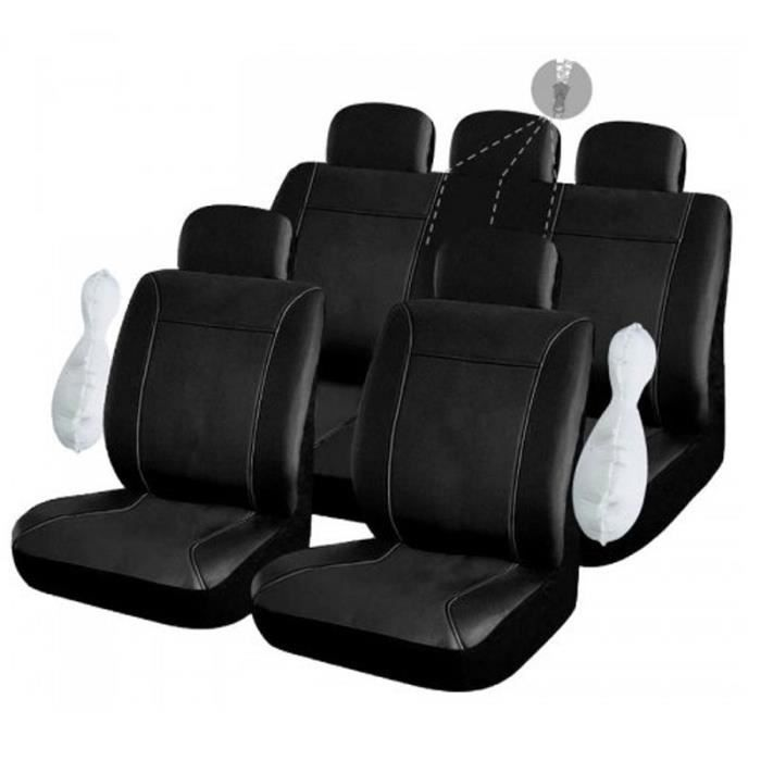 housses de si ge simili cuir pour renault clio 189 achat vente housse de si ge housses de. Black Bedroom Furniture Sets. Home Design Ideas