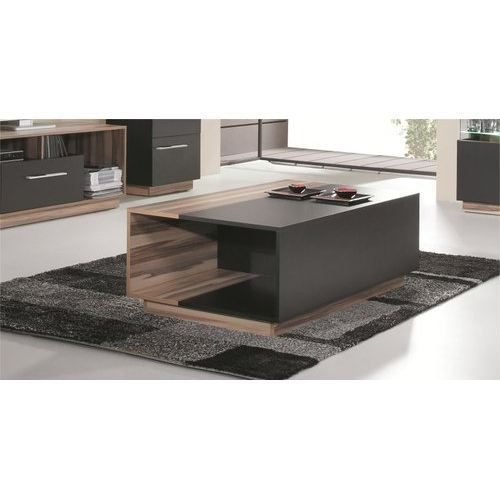 Table basse de salon black achat vente table basse table basse noire soldes d s le 27 - Fabrication de table basse ...