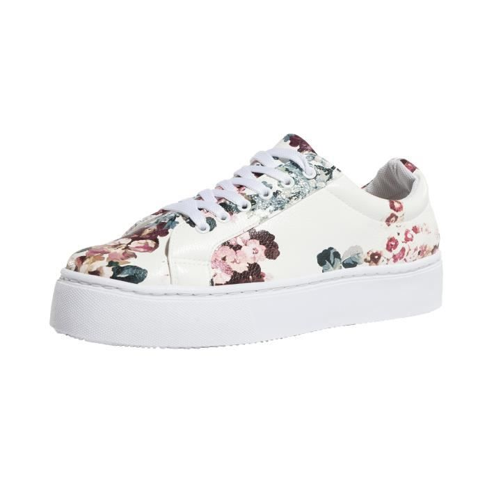 Pieces Femme Chaussures / Baskets psMoa Flower