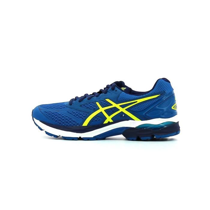 Asics Gel-Pulse 8 T6E1N-4907 Homme Baskets Bleu,Jaune