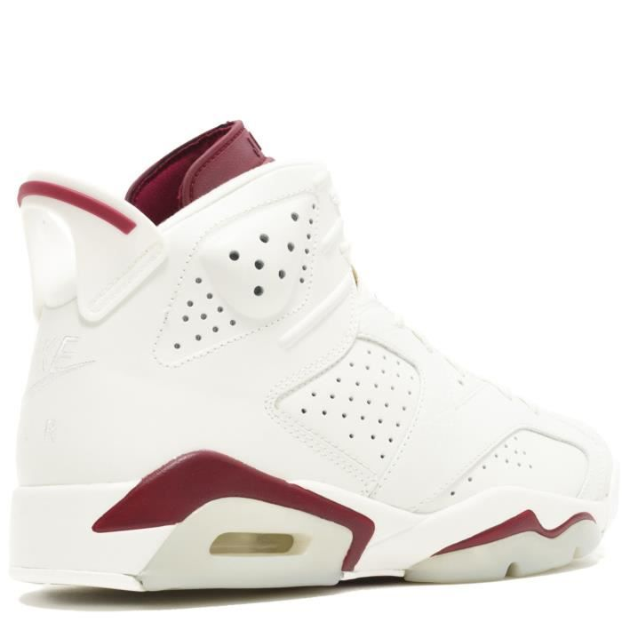 Nike Air Jordan 6 Retro VI MAROON OG 384664-116 off white/new maroon - Air Jordan 100% authentique