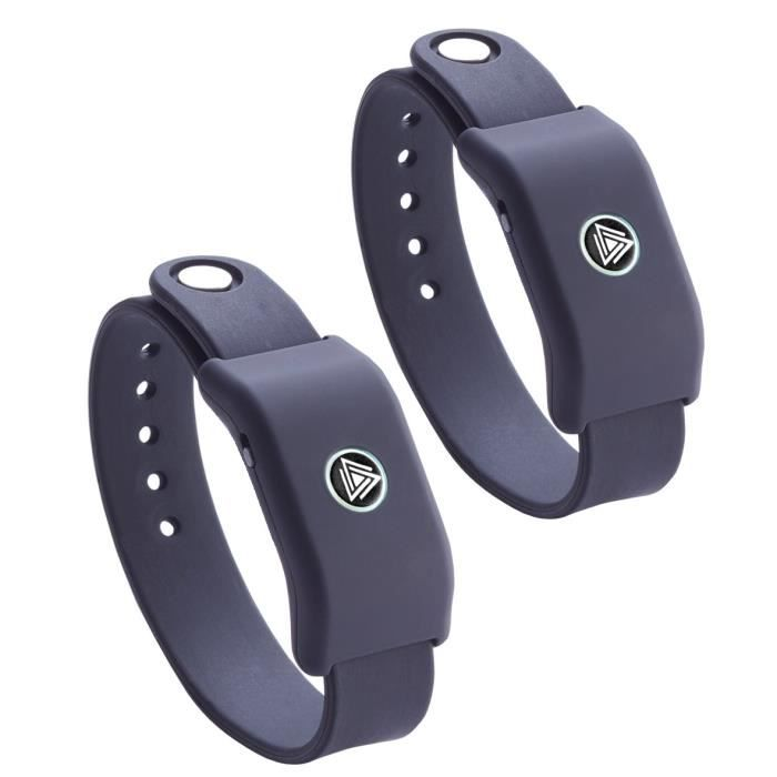 SOUNDMOOVZ Bracelet Musical Noir
