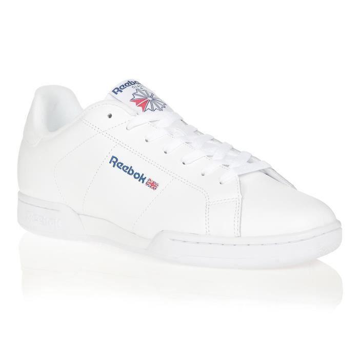 REEBOK Baskets NPC Blanc/Bleu Mixte