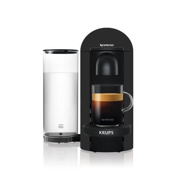 Nespresso Vertuo Plus Black Mat 1,8L - Machine à café Krups YY3922FD