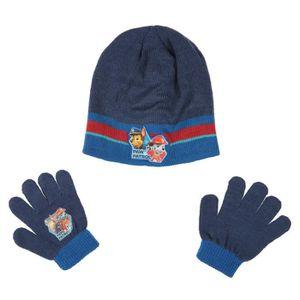 BONNET - CAGOULE PAT'PATROUILLE Lot de Bonnet + gants - Enfant Garç