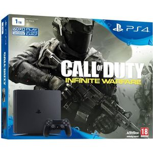 CONSOLE PS4 Nouvelle PS4 Slim 1 To + Jeu Call of Duty Infinite