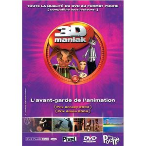 DVD DESSIN ANIMÉ DVD 3d maniak, vol. 4
