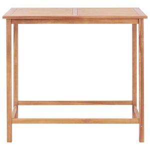 TABLE DE JARDIN  Festnight Table de bar de jardin Table de jardin e