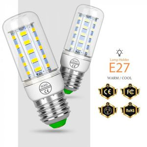 AMPOULE - LED Version Blanc - E27 72leds 25W - E14 Lampe Gu10 Le
