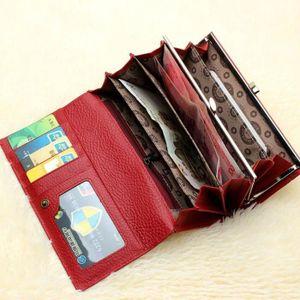 PORTE MONNAIE Porte-monnaie en cuir pour femmes de haute qualité