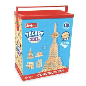 ASSEMBLAGE CONSTRUCTION JeuJura - 8322 - Jeu de Construction - Tecap 3XL -