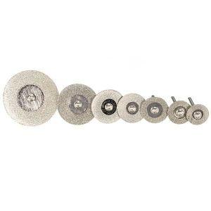 Nouveau 36pcs résine coupe disque de roue Lame Coupe Set Kit pour outil rotatif
