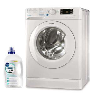 LAVE-LINGE INDESIT Lave-Linge Frontal Blanc 8KG A+++ 1400trs/