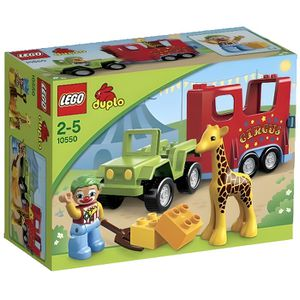 ASSEMBLAGE CONSTRUCTION LEGO® DUPLO 10550 Le Transport du Cirque