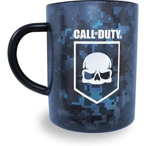BOL - MUG - MAZAGRAN Mug Call of Duty : Shield Steel - Bleu