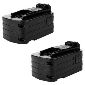 2 X DOSCTT Batterie Remplacement pour Bosch 18V 4.0 Ah Li-Ion BAT609 BAT621 BAT609G BAT610G BAT618G BAT618 BAT619 BAT619G BAT620 1600A002U5