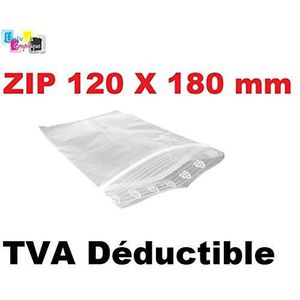 sacs plastique transparents pochettes Lot 100 Sachets ZIP 70x100 qualité pro